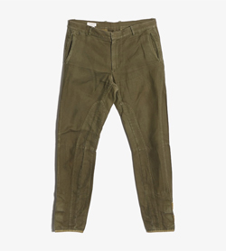 DRIES VAN NOTEN - 드리스반노튼 코튼 팬츠  Made In Romania  Man 32 / Color - Khaki