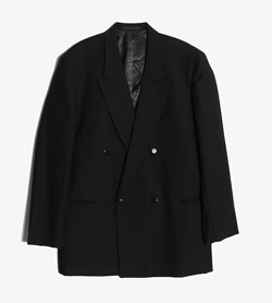 JPN -  울 더블 자켓  Man L / Color - Black