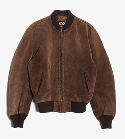 SCHOTT - 숏트Nyc 스웨이드 집업 자켓  Made In Usa  Man M / Color - Brown