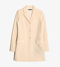 THEORY - 띠어리 울 코트  Women S / Color - Ivory