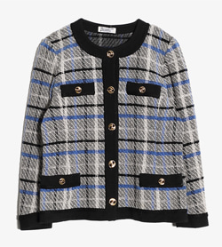HERNO - 에르노 라나울 패턴 자켓  Made In Italy  Women M / Color - Check