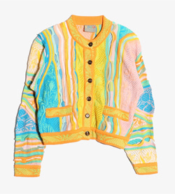 COOGI - 쿠지 울 멀티 패턴 가디건  Made In Australia  Women M / Color - Etc