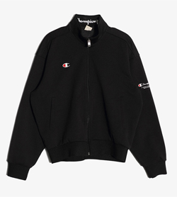 CHAMPION - 챔피온 폴리 집업  Man L / Color - Black
