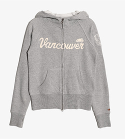 JPN -  코튼 후드  Women XS / Color - Gray