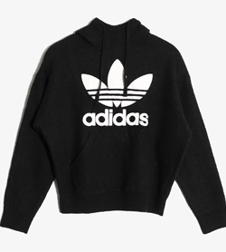 ADIDAS - 아디다스 양모 후드  Women L / Color - Black