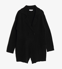 GROVE -  나일론 울 가디건  Women M / Color - Black