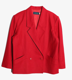 MICMAC -  울 더블 자켓  Women L / Color - Red