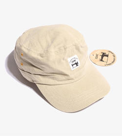 CAP&TOMA -  코튼 밀리터리캡   Unisex Free / Color - Beige