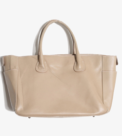 NATURAL BEAUTY BASIC - 네츄럴뷰티베이직 가죽 핸드백   Women FREE / Color - Beige