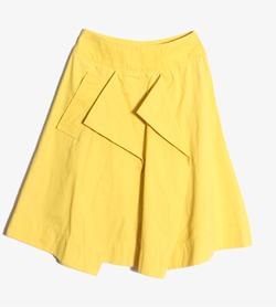 VIVIENNE WESTWOOD - 비비안 웨스트우드 코튼 나일론 스커트   Made In Italy  Women M / Color - Yellow