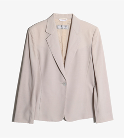 MAXMARA - 막스마라 울 블레이져   Made In Italy  Women M / Color - Beige
