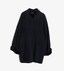 CARLA RADAELLI -  캐시미어 100% 오버사이즈 코트   Made In Italy  Women XL / Color - Navy