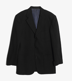 HUGO BOSS - 휴고 보스 울 3버튼 자켓   Made In Italy  Man M / Color - Navy