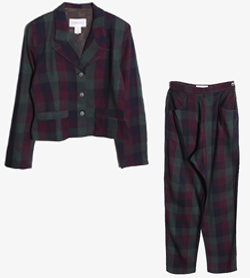 WAREHOUSE - 웨어하우스 레이온 투피스 셋업   Made In England  Women M / Color - Check