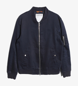 USAF -  코튼 폴리 MA-1 자켓   Man L / Color - Navy