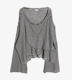 BIANCA'S CLOSET -  울 보더 니트   Women FREE / Color - Stripe