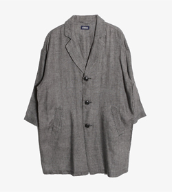 JOURNAL STANDARD - 저널 스탠다드 린넨 코트   Man S / Color - Gray