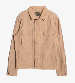 BEAMS - 빔즈 코튼 BDU 자켓   Man L / Color - Beige