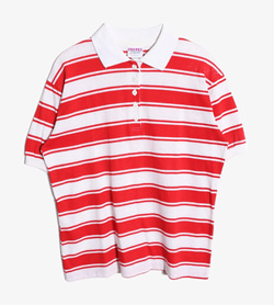 GARAN - 가란 코른 Pk티셔츠   Made In Usa  Women M / Color - Stripe