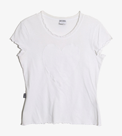 MOSCHINO - 모스키노 코튼 티셔츠   Made In Italy  Women S / Color - White