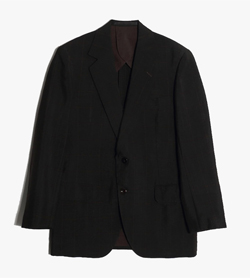 MAGIC DORMEUIL -   투버튼 체크 자켓  Made In England  Man L / Color - Black