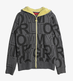 TOMMY GIRL - 타미걸 코튼 후드집업   Women XS / Color - Charcoal