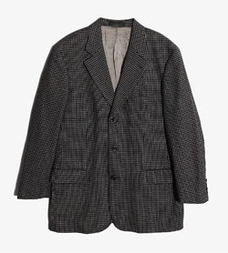 HUGO BOSS - 휴고 보스 울 실크 체크 자켓   Made In Italy  Man L / Color - Check
