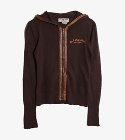 U.S POLO ASSN - 폴로 코튼 후드 집업   Women S / Color - Brown