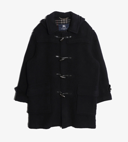 BURBERRY - 버버리 울 더플 코트   Made In England  Man M / Color - Navy