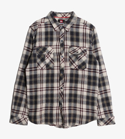 QUIKSILVER - 퀵실버 코튼 셰퍼드 포켓 셔츠   Man S / Color - Check