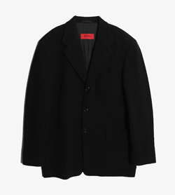 HUGO BOSS - 휴고 보스 버진울 블레이저   Made In Italy  Man M / Color - Black