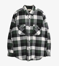 FAMOCK - 파모크 울 더블 포켓 셔츠   Man XL / Color - Check