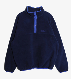 LL BEAN - 엘엘빈 폴리 후리스   Made In Usa  Man L / Color - Navy