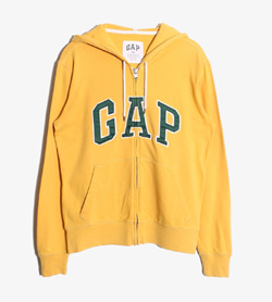 GAP - 갭 코튼 후드집업   Women XS / Color - Yellow
