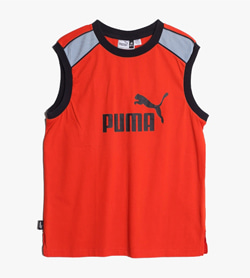 PUMA - 퓨마 코튼 민소매 티셔츠  Made In Bulgaria  Man XL / Color - Red