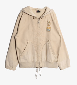 DIESEL - 디젤 코튼 후드 자켓  Made In Romania  Man S / Color - Beige