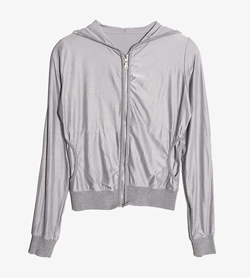 JPN -  코튼 후드집업  Made In Italy  Women S / Color - Gray